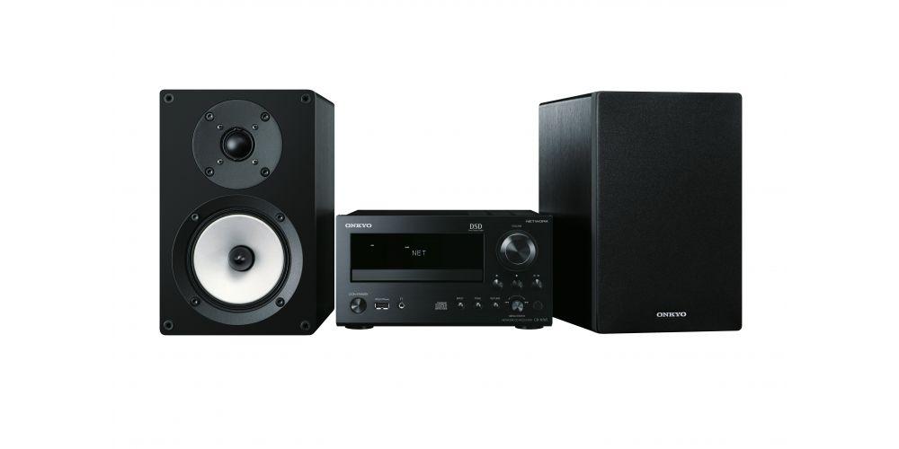 ONKYO CS-N765 BB Micro Cadena Negro/Negro