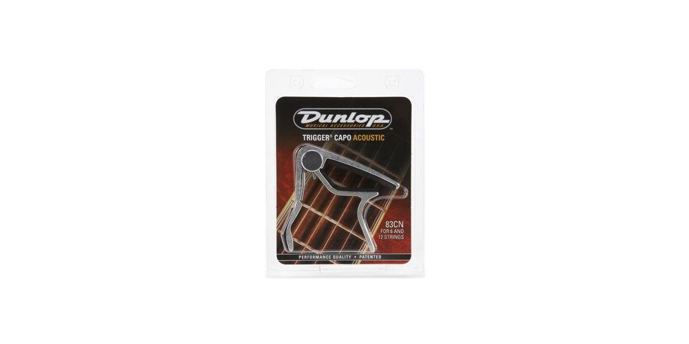 Dunlop Cejilla Trigger Acústica Curva Níquel