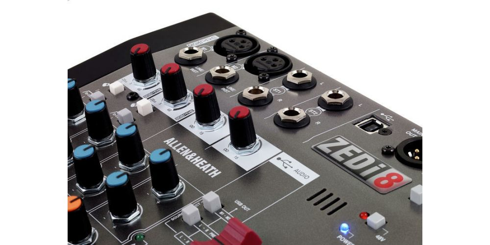 ALLEN-HEATH ZEDi 8 Mezclador de 8 canales