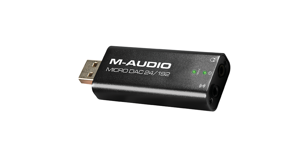 M AUDIO Micro DAC II, Conversor Analogico / Digital