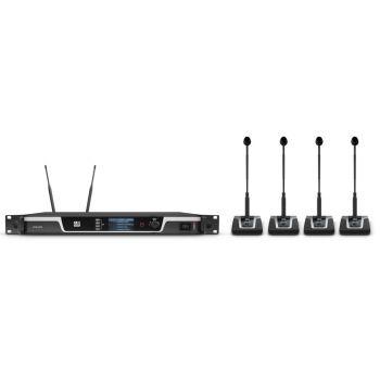 LD SYTEMS U508 CS4 Sistema de conferencia inalámbrico de 4 canales