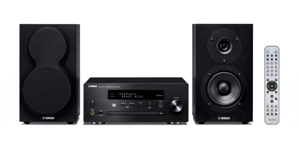 yamaha mcrn470 bk minicadena musiccast