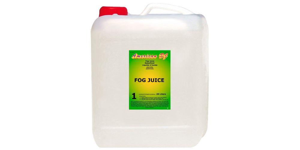 american dj fog juice 1 light