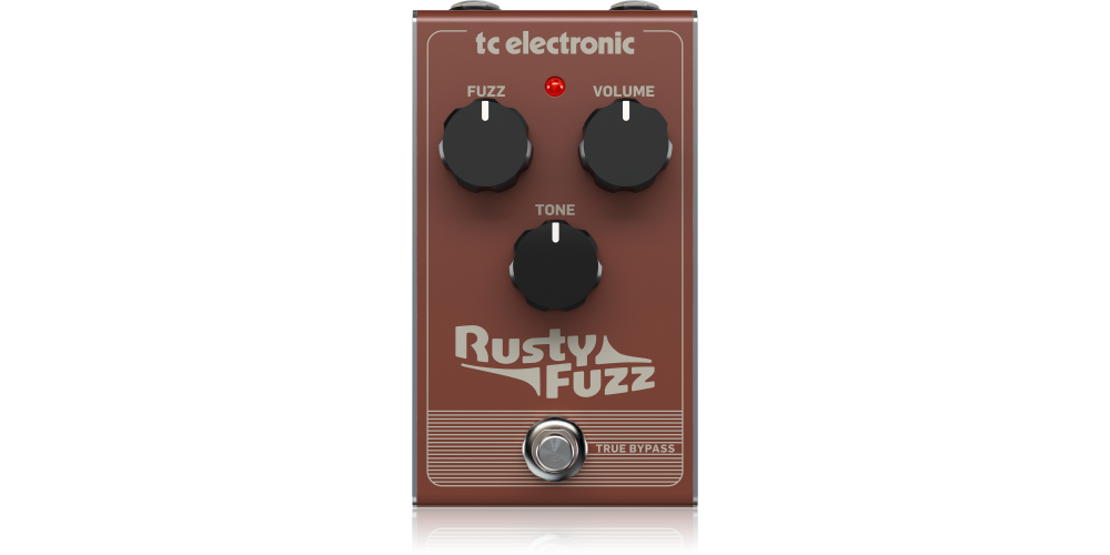 Rusty Fuzz tc electronic pedal efectos
