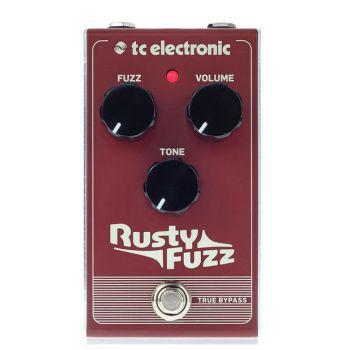 TC Electronic Rusty Fuzz Pedal de efectos