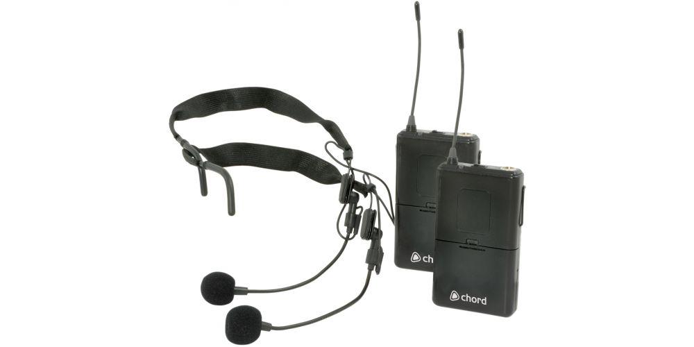 comprar microfono doble inalambrico diadema
