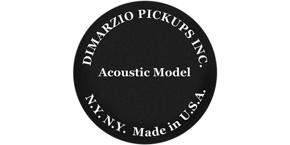 Comprar Dimarzio Acoustic Model negra DP130BK