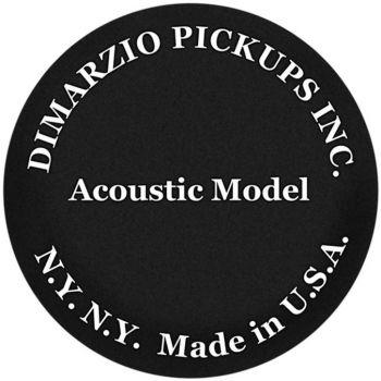 DiMarzio Acoustic Model negra - DP130BK