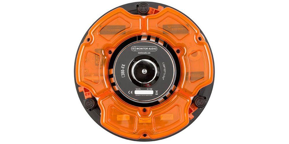 monitor audio c380 fx altavoz de empotrar unidad soportes