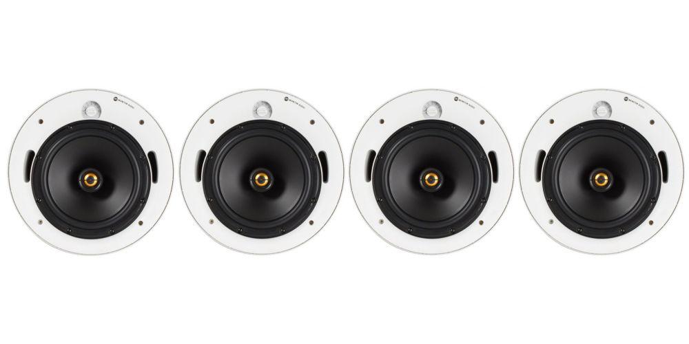monitor audio pro 80lv altavoz empotrable pack 4 unidades