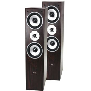 LTC L766-WA Altavoces Bass Reflex 3 Vias 350W Color Walnut