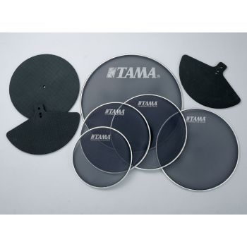 Tama SPP522C Kit parche malla + sordinas platos para batería Standard