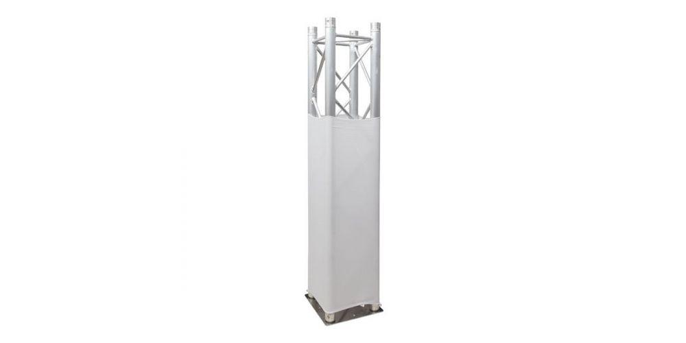 showtec truss sretch cover white 89222