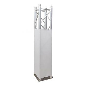 Showtec Truss Stretch Cover White Revestimiento de Tela Blanca para Truss 89222