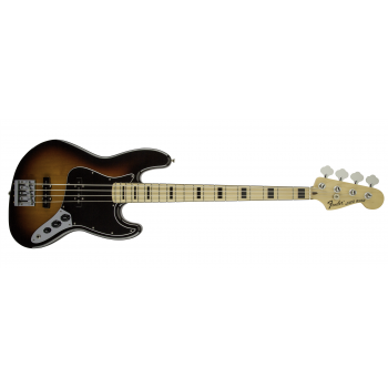 Fender Geddy Lee Jazz Bass Maple Fingerboard 3-Color Sunburst