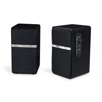 Fonestar BSA-210N Altavoces Hi-Fi Estantería Bluetooth. Pareja