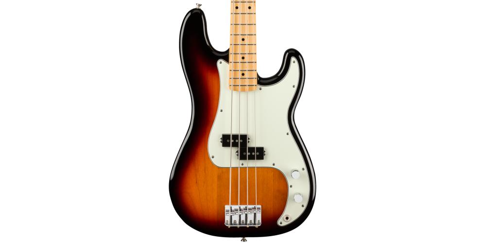 fender player p bass mn 3 sunburst