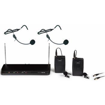 Fonestar MSH-236 Doble micrófono inalámbrico petaca VHF