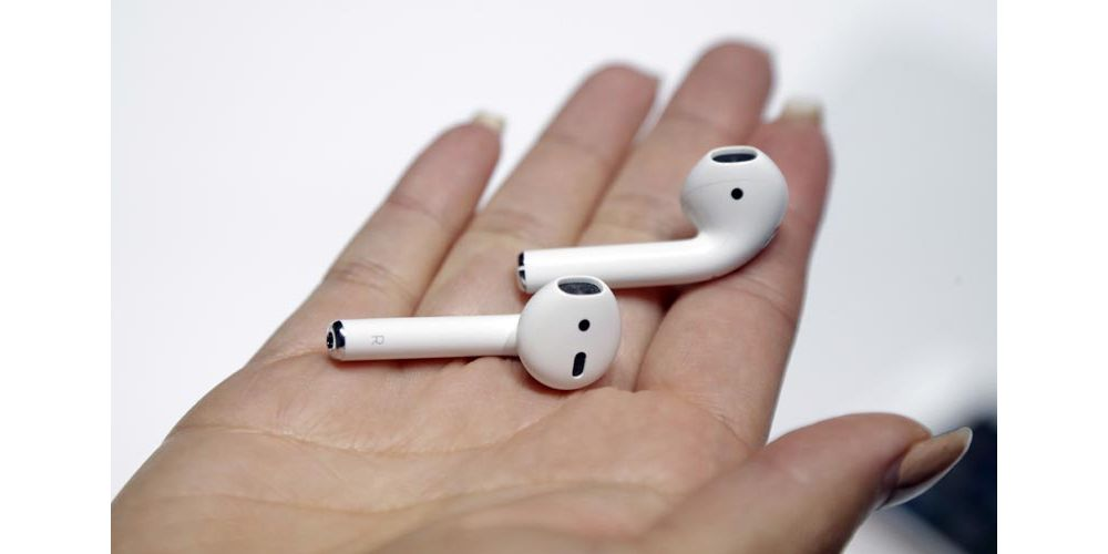 Apple AirPods auriculares bluetooth sin cables libre tamaño