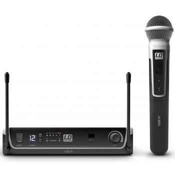 LD Systems U308 HHD Sistema inalámbrico con Micrófono de Mano dinámico