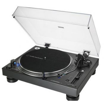 Audio Technica AT-LP140XP BK Giradiscos Profesional Manual de Tracción Directa