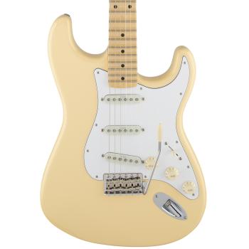 Fender Yngwie Malmsteen Stratocaster MN Vintage White. Guitarra Eléctrica con Estuche