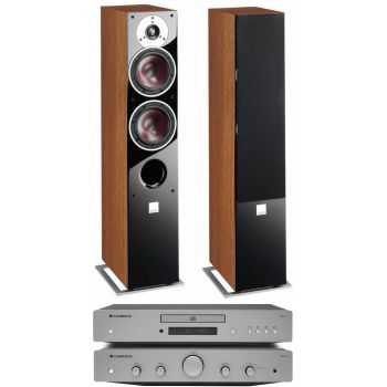 CAMBRIDGE AXA25 +AXC25+Zensor 5 walnut Conjunto audio