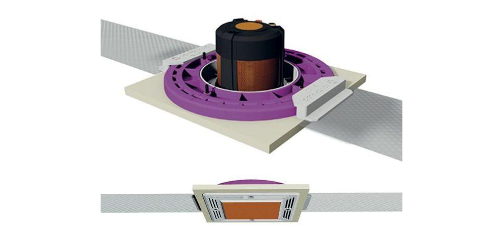 Monitor audio CFB3 SQ Soporte cuadrado previo construcción Kit instalacion rejilla