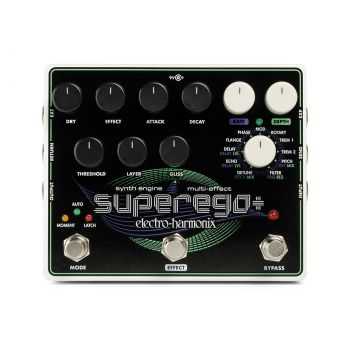 Electro Harmonix Superego Plus Pedal Efectos