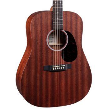 Martin D10E-SAPELE Guitarra Electro-Acustica con Funda