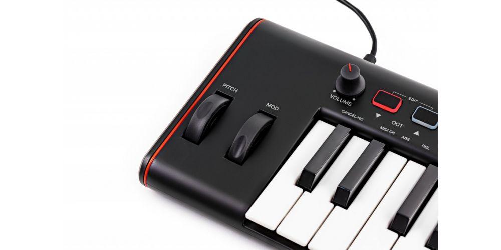 controlador teclado controlador Ik Multimedia iRig Keys 2