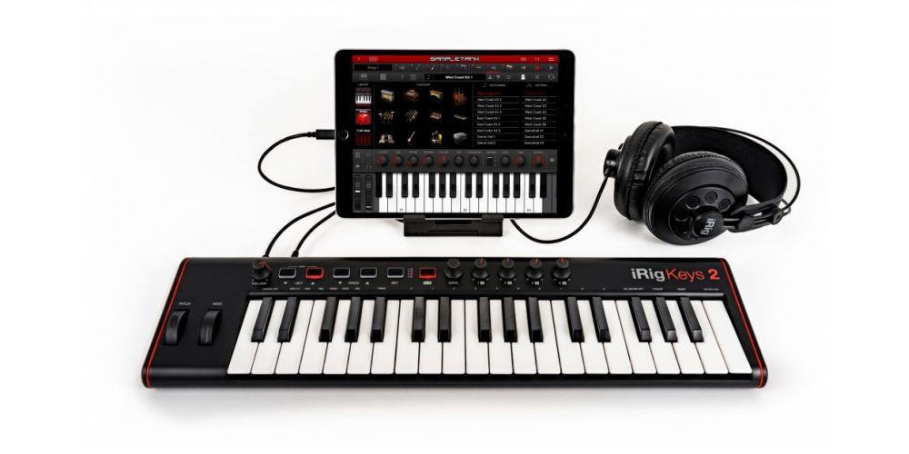 teclado controlador Ik Multimedia iRig Keys 2 usb.37 teclas