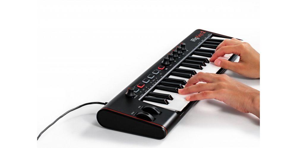 teclado controlador Ik Multimedia iRig Keys 2