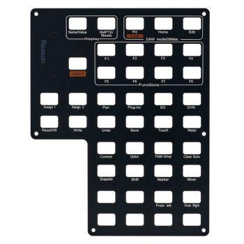 Icon Qcon Pro X Reason Panel De Control Etiquetado