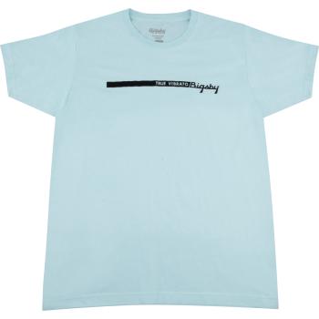 Bigsby True Vibrato Stripe T-Shirt Blue Talla XL