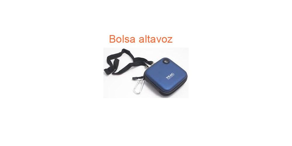 TEAC MP-BAG Bolsa para MP3 con altavoz incorporado LIQUIDACION