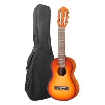 YAMAHA GL-1 TBS Guitalele Tobacco Brown Sunburst  de 6 Cuerdas con funda