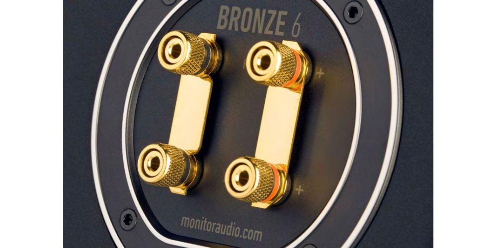 BRONZE 6 BLACK MONITOR AUDIO CONEXION