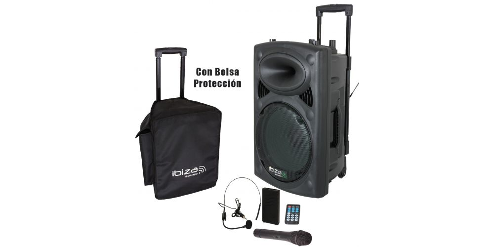 port12vhf bt con bolsa proteccion
