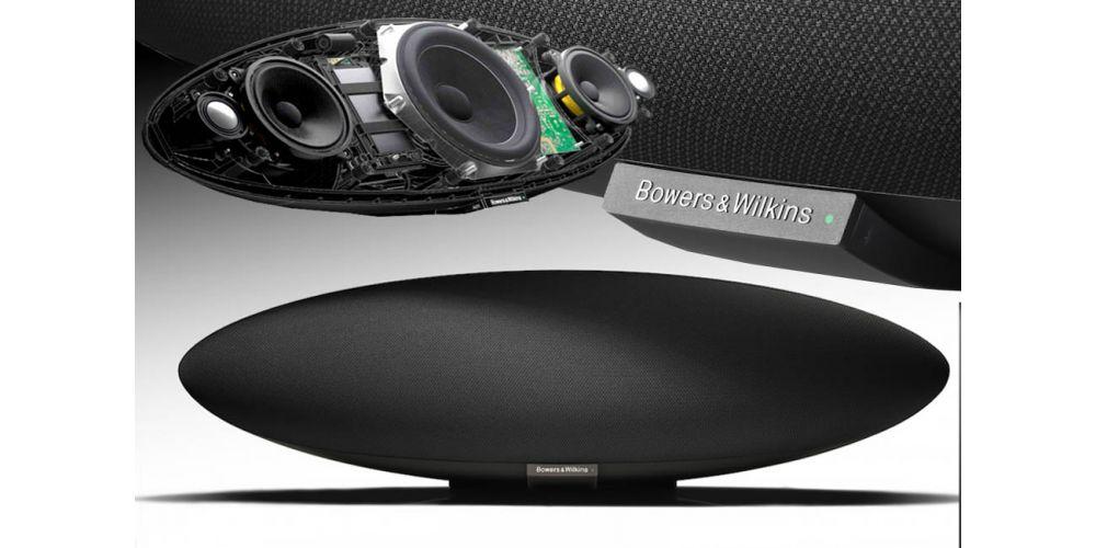 Bowers Wilkins Zeppelin Wireless construccion wifi bluetooth