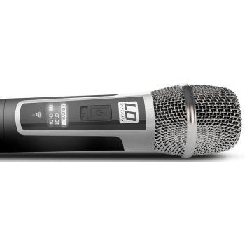 LD SYTEMS U506 HHC 2 Micrófono Inalámbrico Doble de Mano