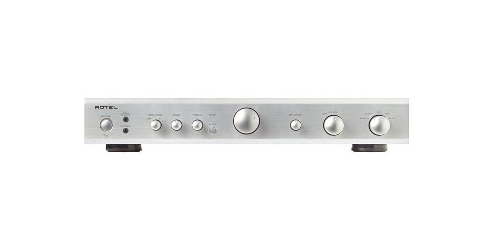 rotel a10 silver amplificador