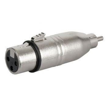DAP Audio FLA31 Adaptador XLR Hembra / RCA Macho