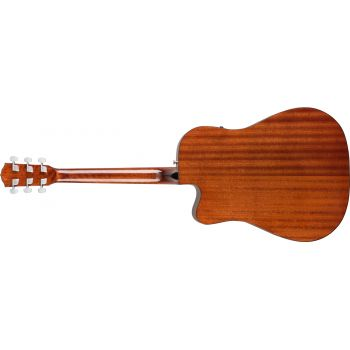 Fender CD-60SCE All Mahogany Natural. Guitarra Acústica