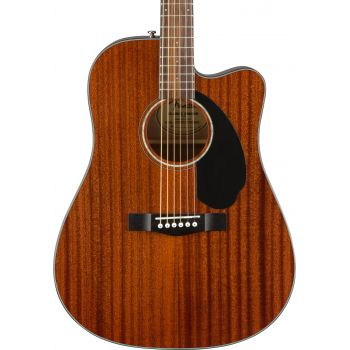 Fender CD-60SCE All Mahogany Natural. Guitarra Acústica