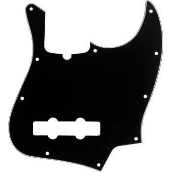 Fender Golpeador Jazz Bass 10 agujeros de montaje con muesca B/W/B