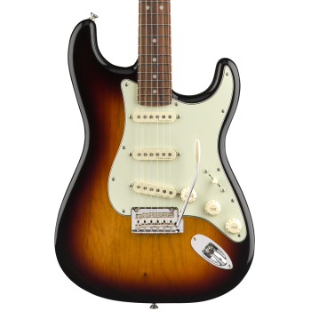 Fender Deluxe Roadhouse Stratocaster Pau Ferro Fingerboard 3-Color Sunburst ( REACONDICIONADO )