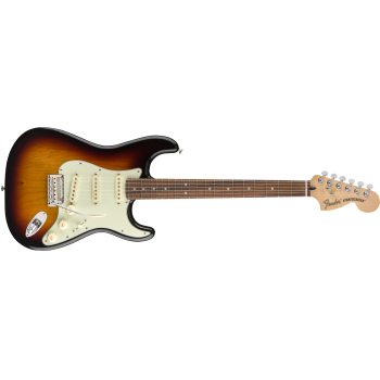 Fender Deluxe Roadhouse Stratocaster Pau Ferro Fingerboard 3-Color Sunburst