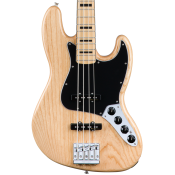 Fender Deluxe Active Jazz Bass MN Ash Natural