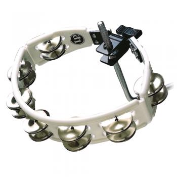 LP LP162 Pandereta Cyclop. Montable. Sonajas de acero. Blanco. LP861554